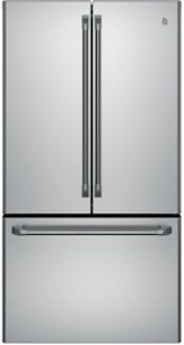 24.8 Cu.ft. French Door Bottom-Mount, W/Factory Installed Icemaker