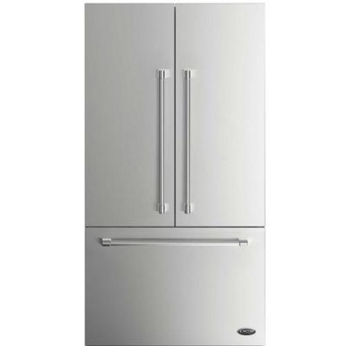 """DCS 36"""" x 72"""" Stainless Steel Refrigerator Door Panel Kit"""