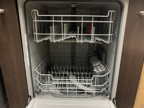GE GE Dishwasher with Hidden Controls