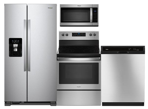 Whirlpool Stainless Steel Appliance Suite