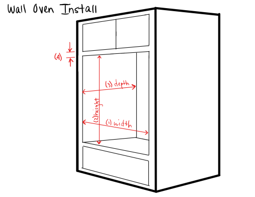 Wall Oven Install