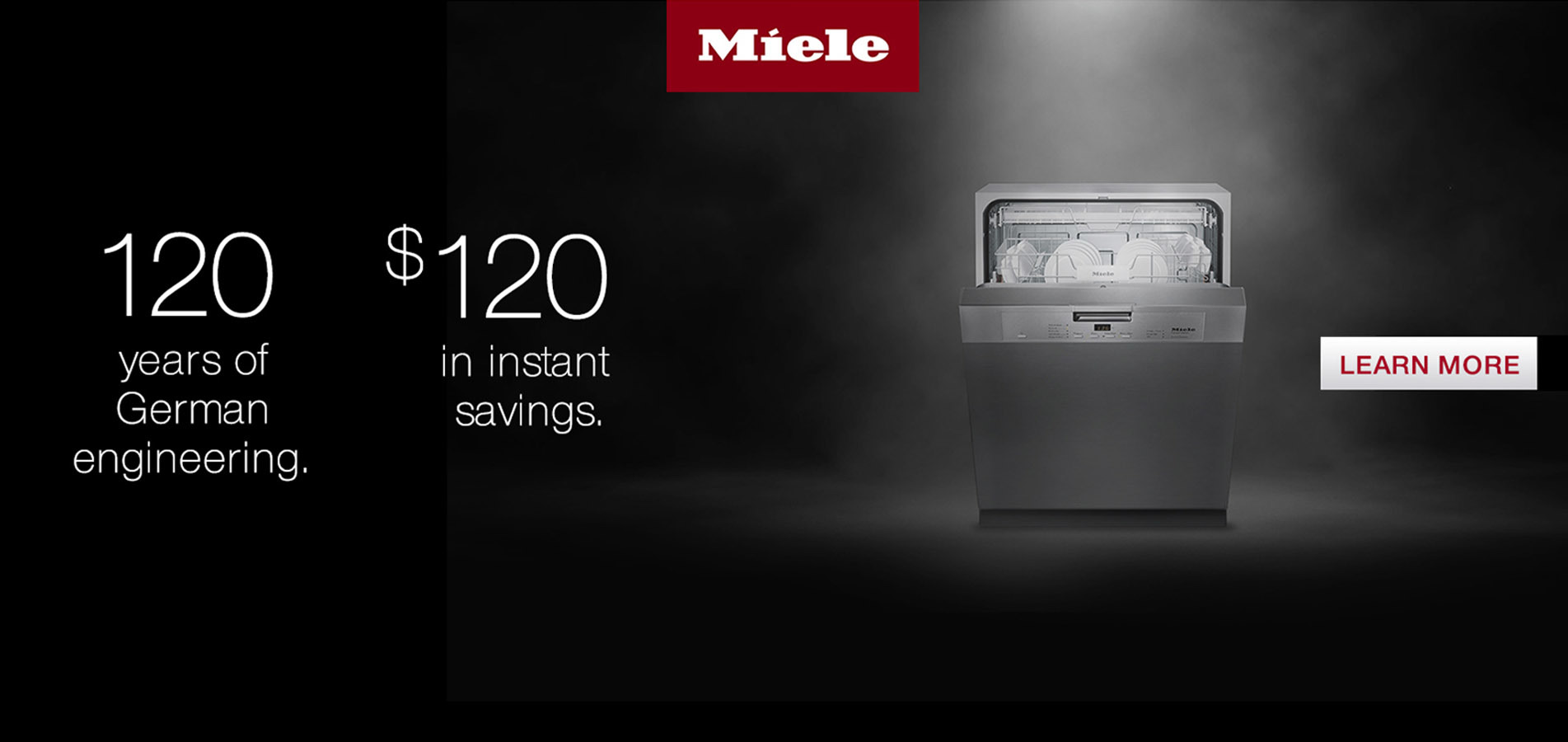 Miele: $120 in Instant Savings-Model G4228 SCU SS