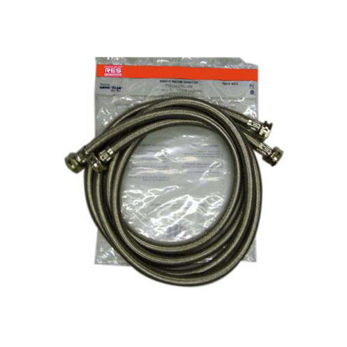 RES  WASHER HOSES SS 2 PK 4'