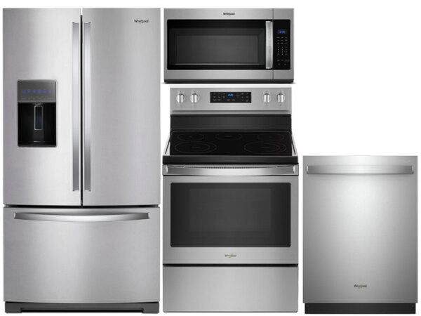 Whirlpool Stainless Steel Dual Ice - Convection Package (3)