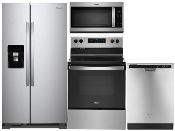 Whirlpool Stainless Steel Side-By-Side Package