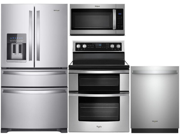 Double Oven Convection Range Package