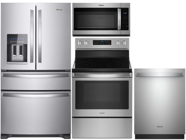 Convection Range - Full Stainless Premium Dishwasher Package
