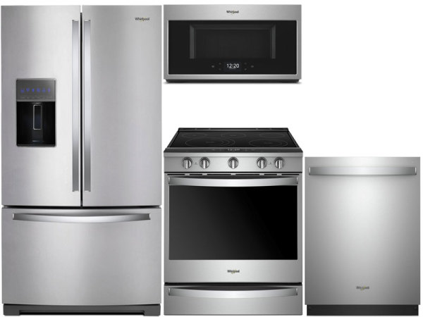 Whirlpool Stainless 2 Kitchen Package
