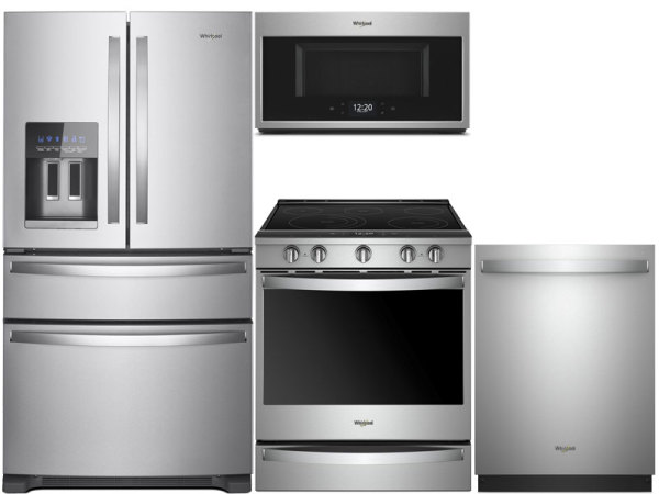 Whirlpool Stainless 3