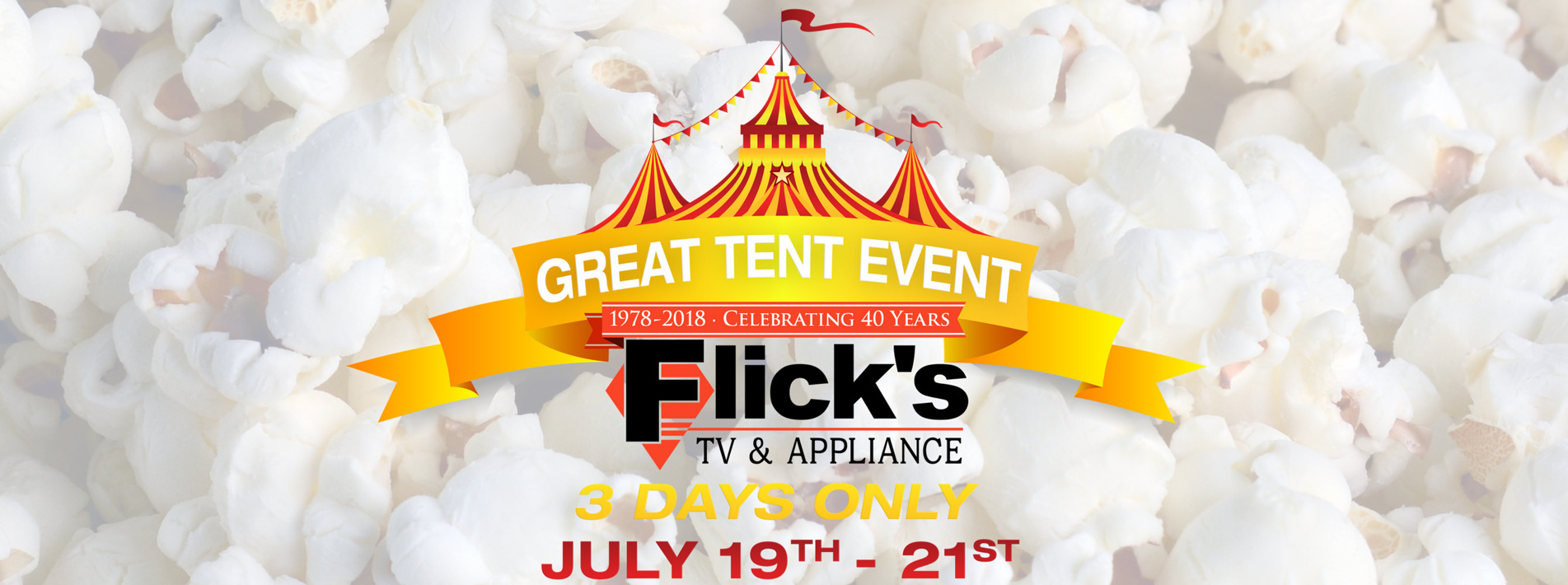 July 2018 Great Tent Event
