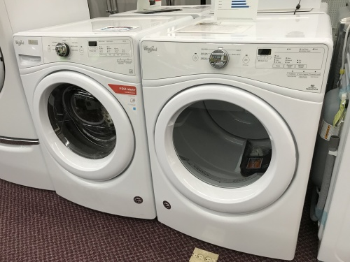 4.5 cu.ft Front Load Washer/7.4 cu.ft Front Load Electric Dryer