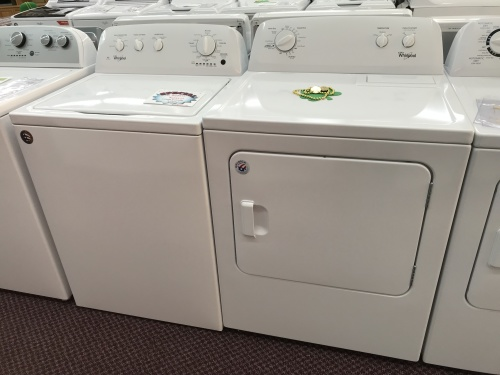 3.5 CU/FT TOP LOAD WASHER/7.0 CU/FT DRYER
