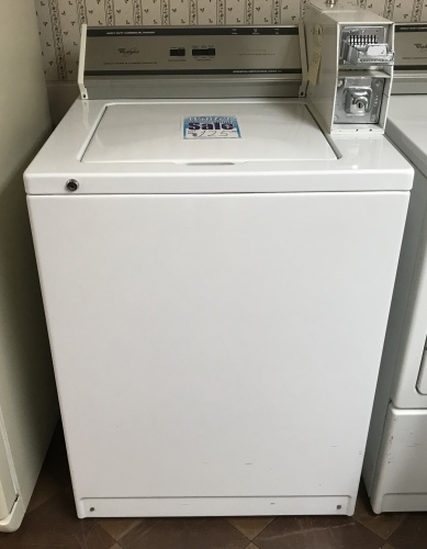 WHIRLPOOL HEAVY DUTY COMMERCIAL WASHER
