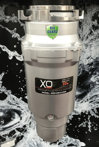 1/2 HP 3 Year Warranty, Continuous Feed waste disposer