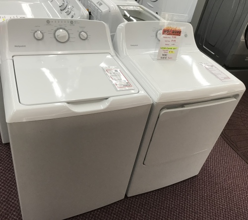 Hotpoint HOTPOINT WASHER & DRYER SET - HOT BUY!