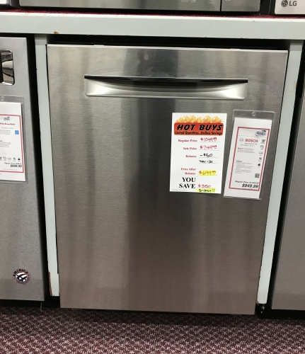 Bosch BOSCH STAINLESS STEEL DISHWASHER - HOT BUY!