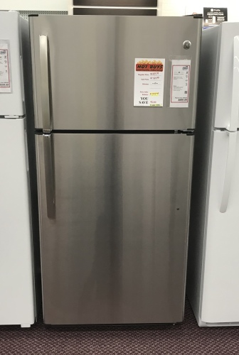 GE GE 21 CU/FT TOP MOUNT REFRIGERATOR