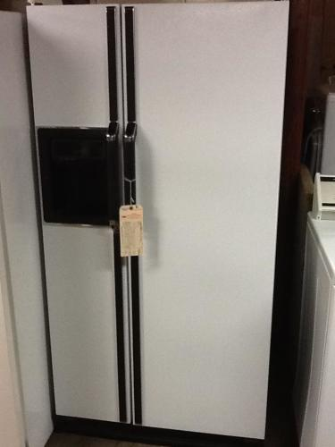 Kenmore side by side refrigerator with ice and water dispenser