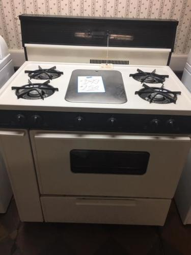 Premier 36 inch Gas Range with Griddle